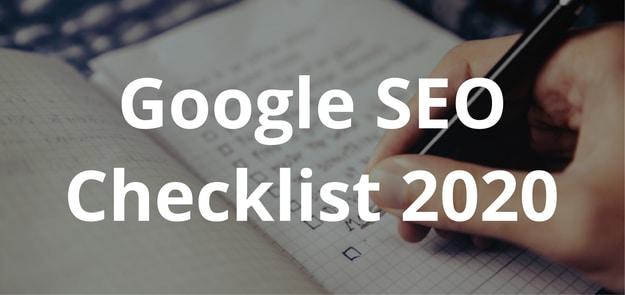 Google_SEO_Checklist_2020