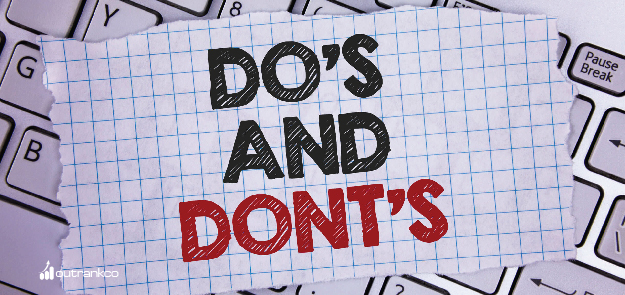 Do's and Don'ts about SEO
